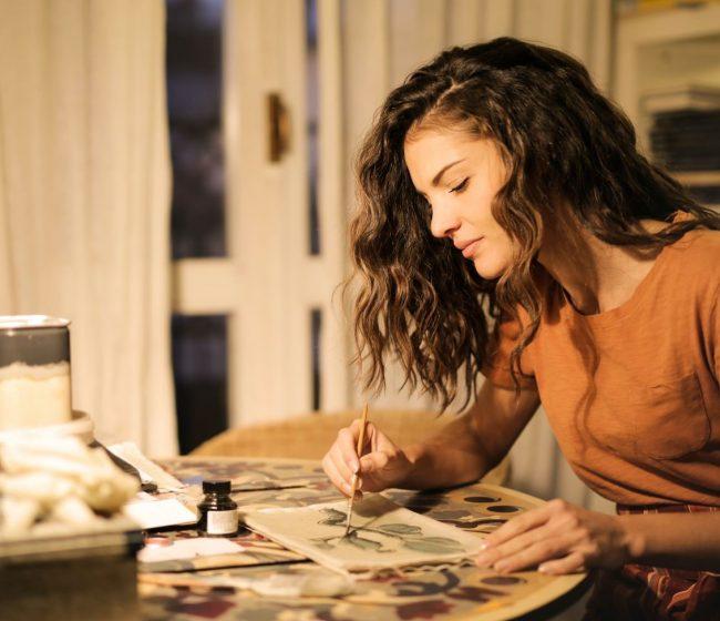creative woman